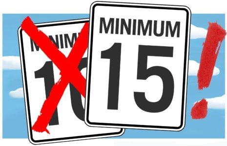 Salaire minimum à 15$ l'heure : qu'attend le Québec?