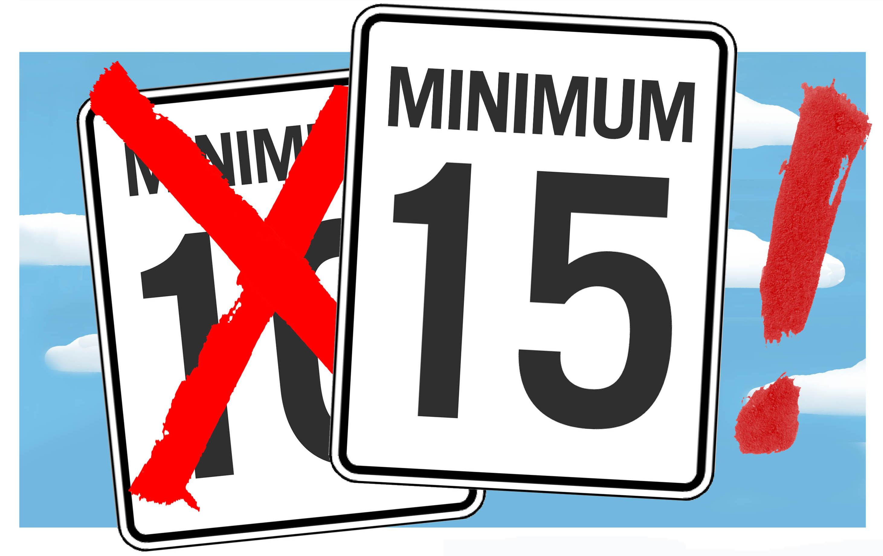 la csn en cagne pour un salaire minimum 224 15 l heure conf 233 d 233 ration des syndicats