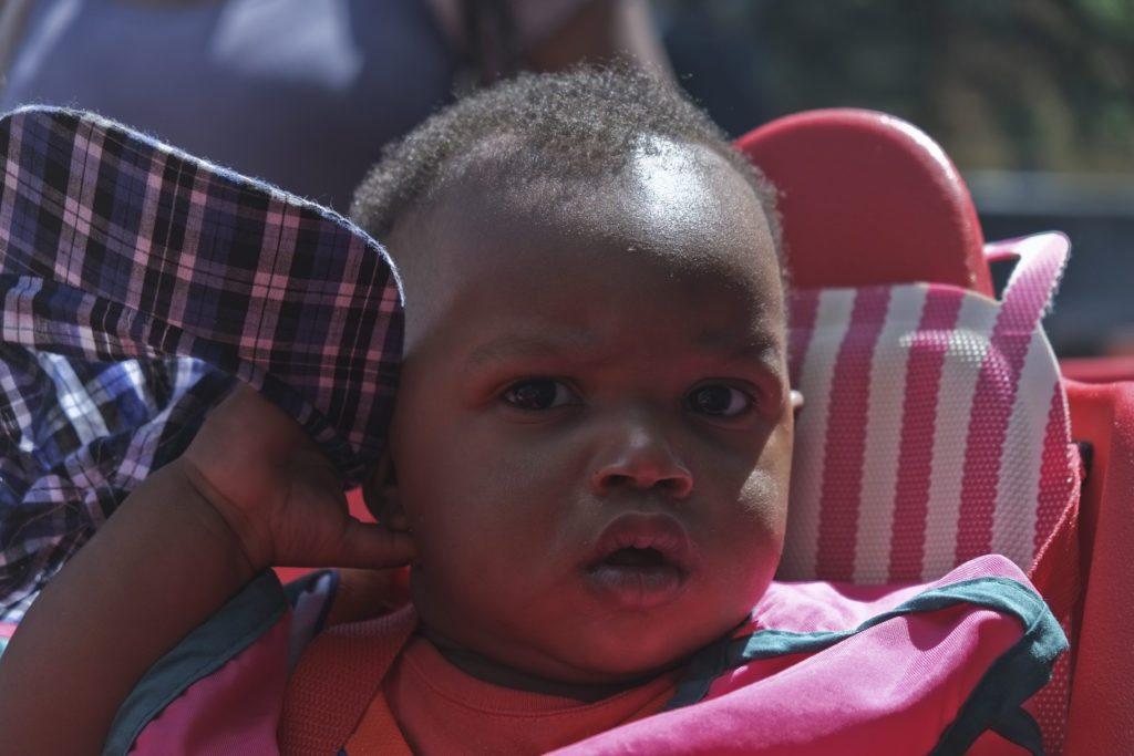Taylor Bois, 9 mois, fils de Daliana Jean Baptiste sera relocalisé au CPE l'Oasis puisque le CPE Mini-fée ferme sa seule pouponnière