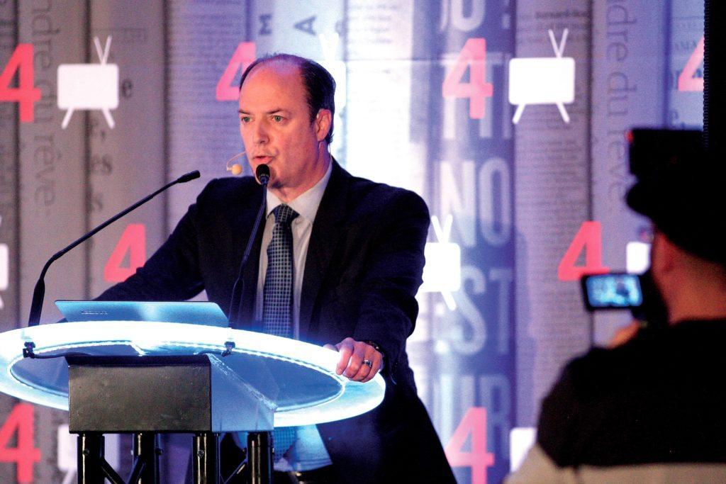 Claude Dorion, directeur général de la firme MCE Conseils | Photo : Pascal Ratthé