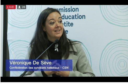 Diffusion de la consultation de la Commission sur l'éducation à la petite enfance