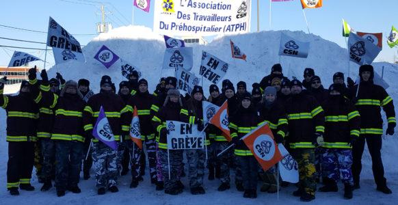 Secteur préhospitalier, en grève ! | Québec