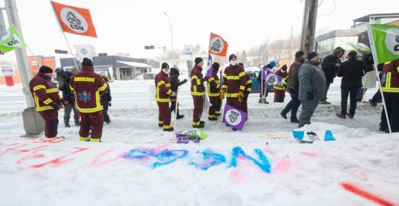 Secteur préhospitalier, en grève ! | Sherbrooke