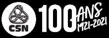 Logo CSN (centenaire)
