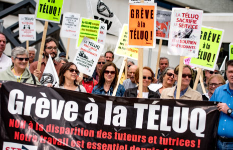 Un appel d'offres pour remplacer des grévistes
