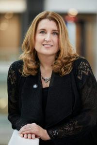 Portrait de Caroline Senneville, première vice-présidente de la CSN