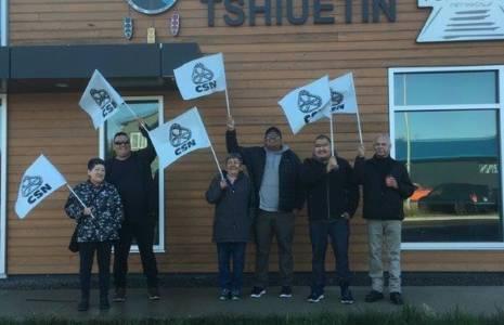 Les employé-es de transport ferroviaire de Schefferville déclenchent la grève générale illimitée