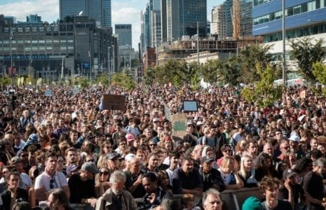 La plus grande manifestation de l'histoire du Canada