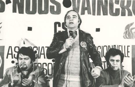 Décès de Norbert Rodrigue, ancien président de la CSN