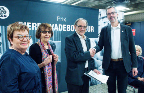 Le prix Pierre-Vadeboncœur 2019 remis  au romancier et essayiste Yvon Rivard