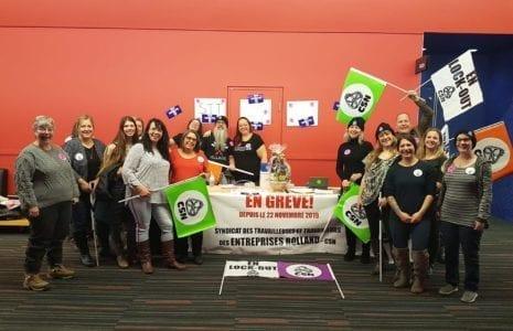 Victoire syndicale contre les briseurs de grève
