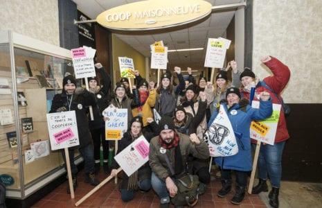 Grève générale illimitée à la Coop du Collège de Maisonneuve