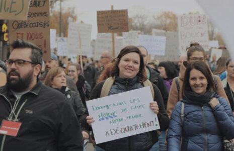 Message aux syndicats du secteur public : Un gouvernement déconnecté qui veut couper les ailes des anges gardiens