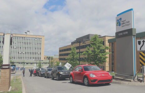Convoi automobile des syndicats CSN : Une balade pour la santé !