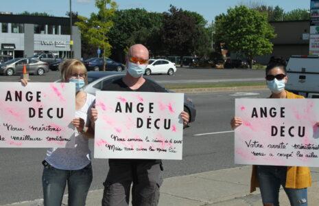 Travailleuses et travailleurs de la santé de la Montérégie-Centre : les anges déchus sont déçus