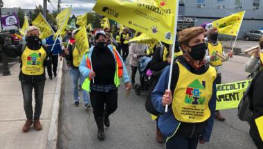 Après avoir touché toutes les régions, la grève tournante se conclut à Montréal et Laval
