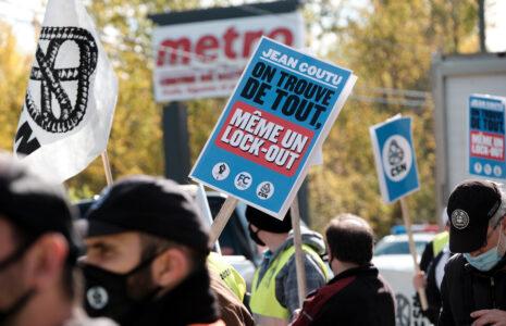 Lock-out chez Jean Coutu: les travailleurs et la population écopent