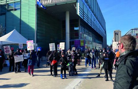 Soutenir les salarié-es touché-es et promouvoir les services de la Grande Bibliothèque