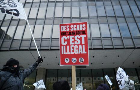 Le tribunal expulse des scabs de l'entrepôt de Jean Coutu