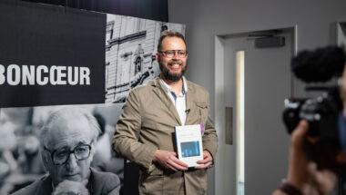 Mathieu Bélisle, lauréat de la dixième édition  du prix Pierre-Vadeboncoeur