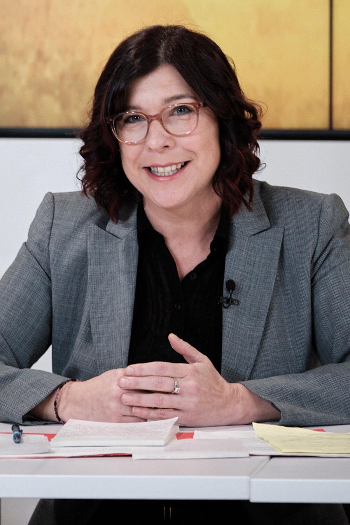Portrait de Katia Lelièvre, troisième vice-président de la CSN