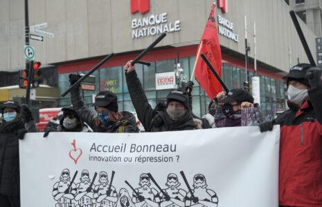 Accueil Bonneau : une décision antisyndicale qui nuit aux personnes itinérantes