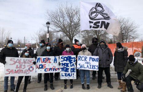 Les employé-es de quatre piscines gérées par la SODEM en grève