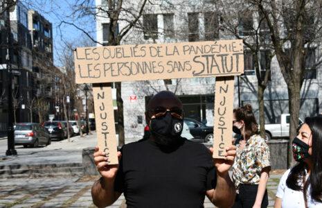 La CSNen faveur dela régularisation des personnes migrantes précaires: appel à l'action