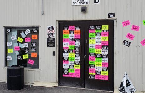 Les membres du syndicat d'Olymel Vallée-Jonction déclenchent la grève générale illimitée