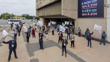 Le personnel de soutien des cégeps affilié à la FEESP-CSN annonce 3 journées consécutives de grève en mai
