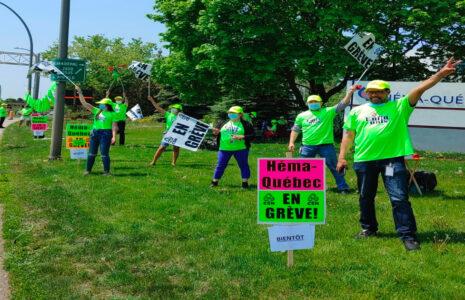 Les salarié-es exaspérés adoptent le port du t-shirt syndical et promettent d'autres actions