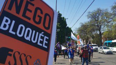 Les syndicats de la FSSS–CSN en grève les 21 et 22 juin