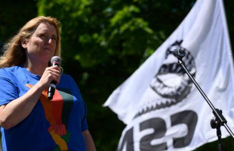 Caroline Senneville élue à la présidence de la CSN