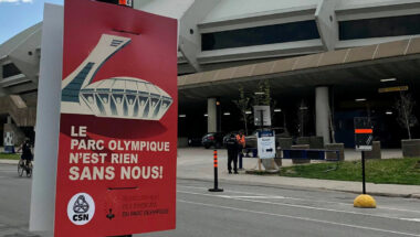 Les syndiqués du Parc olympique seront en grève le 30 juin prochain