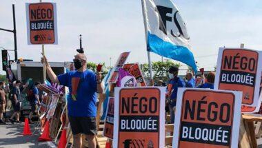 La FSSS–CSN bloque le Port de Montréal