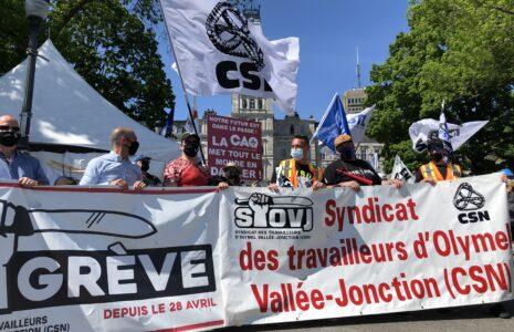 Le syndicat s'oppose aux reculs en santé et sécurité