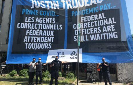 Les agents correctionnels fédéraux oubliés par le gouvernement Trudeau