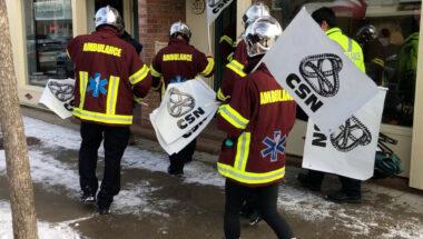 Vagues de grèves des paramédics – Un appel au respect