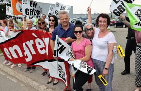 Grève à la Coopérative funéraire des Deux Rives : les syndiqué-es demandent l'intervention du conseil d'administration