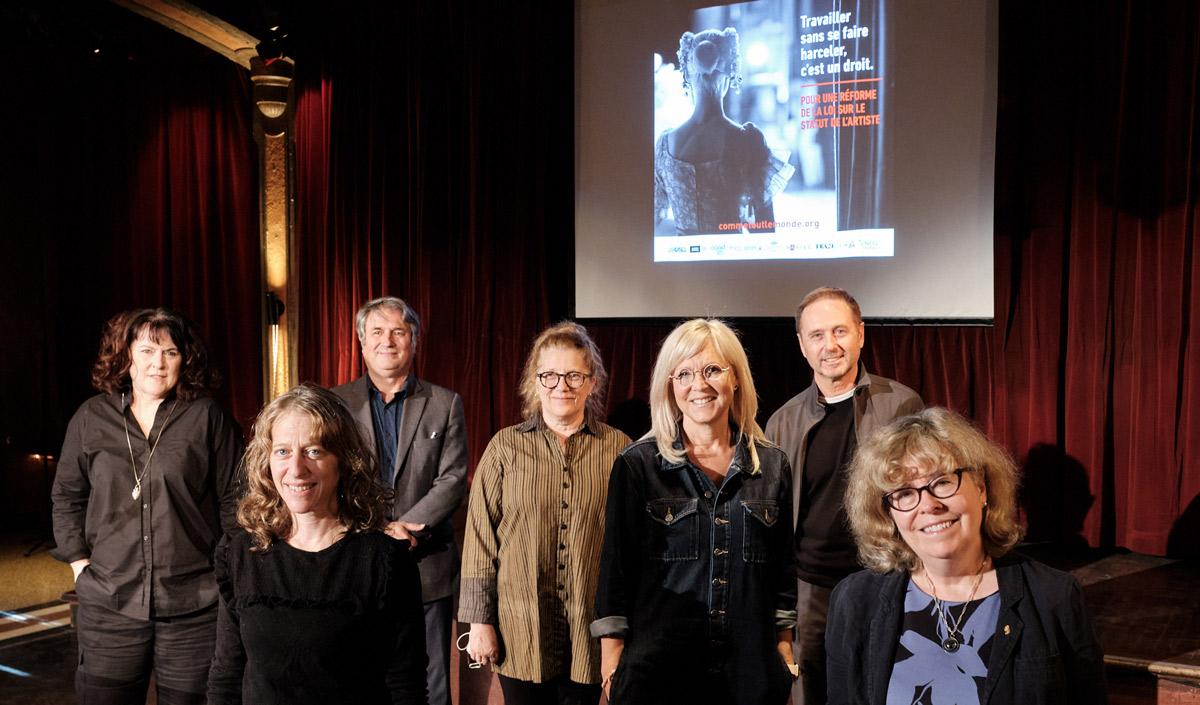 Les associations du milieu culturel québécois demandent au gouvernement Legault de procéder à la réforme de la Loi sur le statut de l'artiste