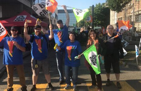 Le Regroupement des traversiers CSN renouvelle ses mandats de grève