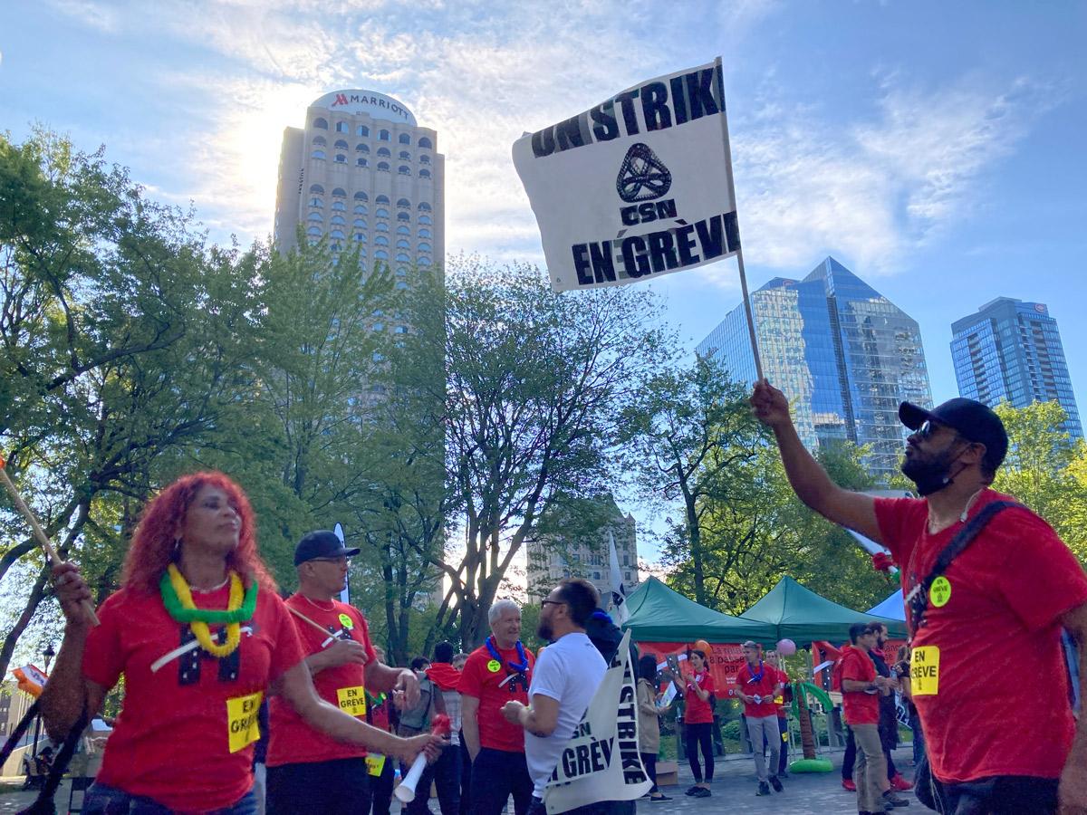 Première journée de grève commune pour les syndicats de l'hôtellerie