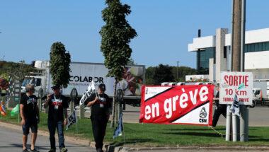 Grève au distributeur alimentaire Colabor