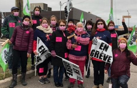 Une journée de grève s'ajoute dans le cadre de la négociation locale du Syndicat des CPE de Sept-Îles