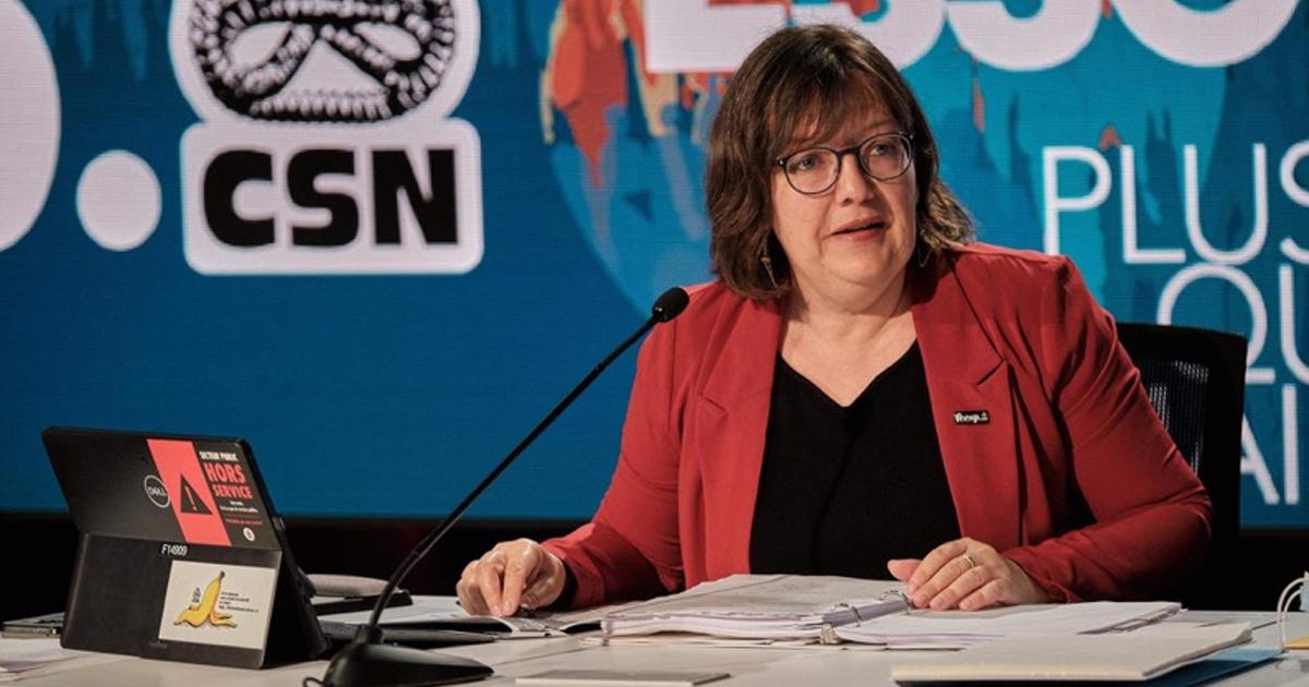 Nathalie Arguin élue au secrétariat général de la CSN