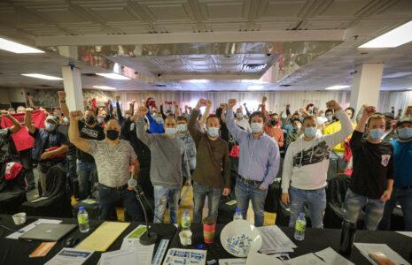 Les travailleuses et les travailleurs de Sucre Lantic se dotent d'un mandat de grève générale illimitée