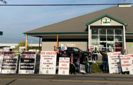 Le STT de BMR-Novago vote un mandat de grève générale illimitée