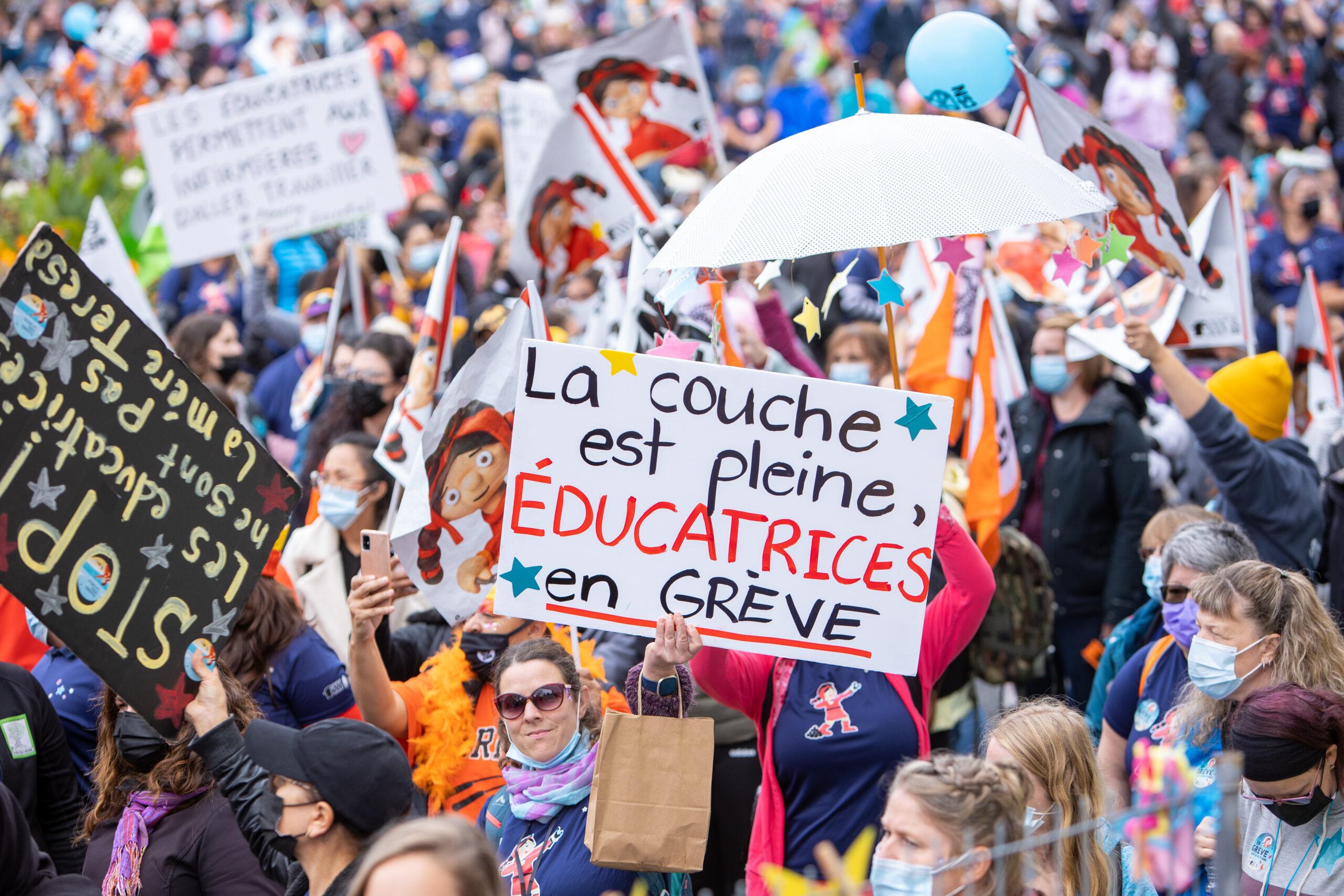 Trois autres journées de grève pour les 11000 salarié-es syndiqués à la CSN