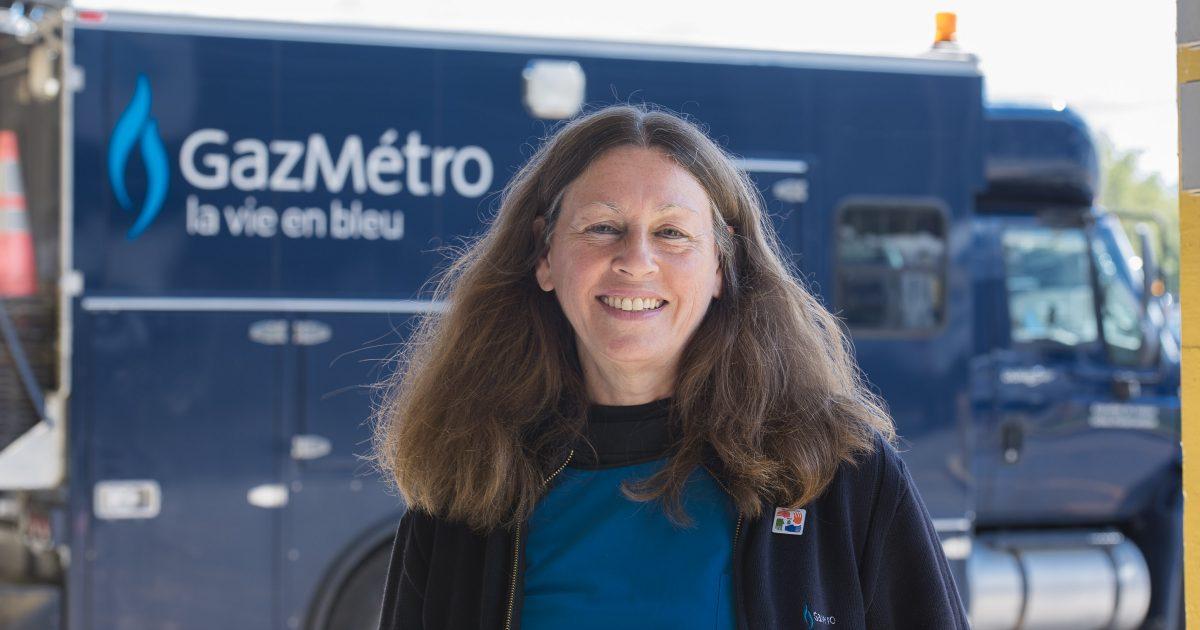 Linda Boisclair, vice-présidente du syndicat de Gaz Métro.  Photo : Michel Giroux