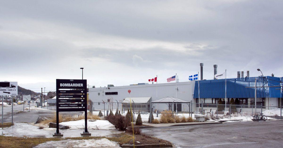L'usine de Bombardier La Pocatière - Photo : Michel Giroux
